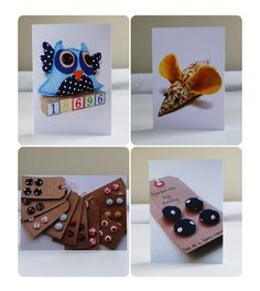 A selection of Greeting Cards from Handmade by Emily on Folksy #handmade #cards #greeting