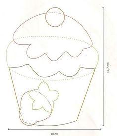 12 Ideas para hacer adornos de tela y fieltro para decorar la cocina ~ Mimundomanual