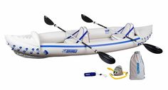 Find Sea Eagle 370 Pro 3 Person Inflatable Portable Sport Kayak Canoe Boat w/ Paddles online. Shop the latest collection of Sea Eagle 370 Pro 3 Person Inflatable Portable Sport Kayak Canoe Boat w/ Paddles from the popular stores - all in one Canoe Boat, Kayak Boats, Fishing Boats, Backpacking Gear, Camping Gear, Best Fishing Kayak, Sit On Kayak, White Water Kayak, Shopping
