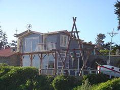 Casa de Isla Negra de Pablo Neruda, dan tours por el interior!, hermosa, aunque un poco frio