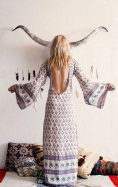 Beautiful boho long dress