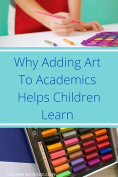 You Are An Artist combines art and academics with lessons designed to foster creativity and a multi-sensory approach for effective learning.