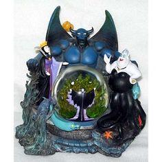 Disney Snow Globe - Villains - Chernabog