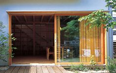 M窓(木製サッシ)