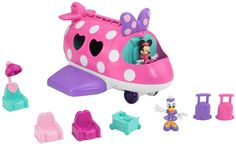 Minnie Mouse Toys Polka Dot Jet