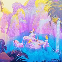 The Peter Pan mermaids are the best