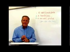Preparing for NBPTS certification, Jerry Parks (Teaching #1): Introduction & Getting Ready! - YouTube There are 15 videos in all--good material!