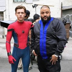 """A brand-new extended TV Spot for """"Spider-Man: Homecoming"""" has been released! The film, which stars Tom Holland, Marisa Tomei, Michael Kea. Ace Comics, Marvel Comics, Marvel Memes, Dj Khalid, Bff, Tom Holland Peter Parker, Man Parts, Men's Toms, Avengers Infinity War"""