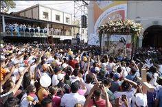 Procesion numero 160 de la virgen de La Divina Pastora en la ciudad de Barquisimeto venezuela 14 enero del 2016
