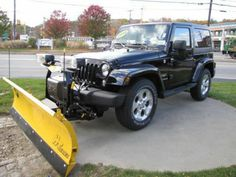 jeep snow plow on pinterest jeeps jeep wranglers and snow. Black Bedroom Furniture Sets. Home Design Ideas