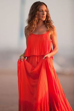 SJP - love the color.