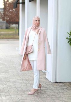 Girly Outfits, Modest Outfits, Simple Outfits, Chic Outfits, Fashion Outfits, Hijab Fashion Summer, Modern Hijab Fashion, Modest Fashion, Turkish Fashion