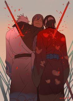 Gintoki, Yoshida, and Shinsuke