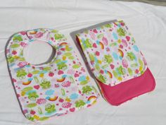 Frog Baby Bib  Handmade Baby Bib Infant or Toddler by sewinggranny, $11.00 #babyshowergift #children accessory #frogs