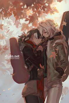 Violinist and Cellist - sketch for Patreon by shilin on DeviantArt