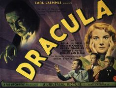 I wish I could see more of the classic horror films on the big scr een. Watching Dracula , (or Bride of Frankenstein or Creature from . Horror Movie Posters, Classic Movie Posters, Classic Horror Movies, Horror Films, Horror Art, Horror Vintage, Retro Horror, Scary Movies, Old Movies