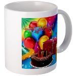 Happy Birthday Mug 4u! Mug  http://www.cafepress.com/lovepositivethinking/9198036