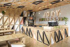 Jury Cafe by Biasol:Design Studio, Melbourne   Australia cafe