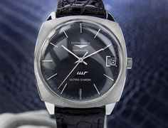This Longines Ultra Chron Automatic Watch is verified 100% Authentic. Has Been Restored and Timed, and Confirmed Working Precisely It is in Excellent Condition. Luxurious design Swiss Made Longines Watch pampered and restored for your enjoyment. A Swiss watch meant to be treasured for generations to come. Ready to be worn and enjoyed.Longines watch made in Switzerland with Automatic movement, 36mm Stainless Steel case, Acrylic crystal, 22cm Leather Band. | eBay!