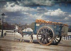 История и современность - Париж 1914 года на цветных фото ~ History and modernity - Paris 1914 year in colour images