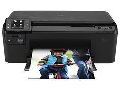 Impressora HP Photosmart série e-multifuncional - D110