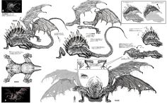 32697 - Dark Souls: Gaping Dragon Concept Art