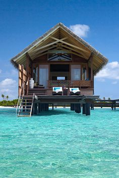 Water Villa at Shangri-La's Villingili Resort & Spa, Maldives