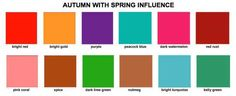 Spring Color Palette | Shop My Closet Boutique Color guide | Exclusive Womens Clothing | Free ...