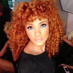 Hair makeup everything!
