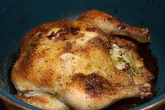 Roasted Whole Chicken SO EASY and YUMMy