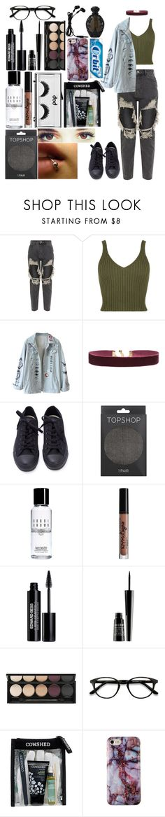 """---"" by ticci-toby13 ❤ liked on Polyvore featuring WearAll, Vanessa Mooney, Topshop, Bobbi Brown Cosmetics, NYX, Pop Beauty, Edward Bess, Lord & Berry, Witchery and EyeBuyDirect.com"