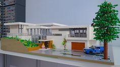 Lego Mansion, Lego Humor, Casa Lego, Lego Boards, Lego Room, Lego Design, Lego Architecture, Lego Creator, Lego Projects