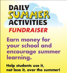 Earn cash for your school or Evan-Moor credit with the summer book fundraiser! Earn $4 in cash or $8 in Evan-Moor product credit for every book sold! Register here: http://email.evan-moor.com/fundraiser.