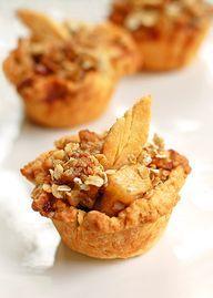 Mini apple pies!