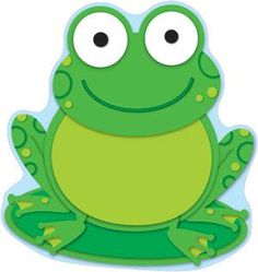 Carson Dellosa Frog Cut-Outs Die-cut shapes; Printed on card stock 36 pieces in each single-design pack Accent your classroom theme, encourage good behavior, create award, and so much more with these colorful cut-outs Height: Width: Length: Frog Bulletin Boards, Colorful Bulletin Boards, Frog Theme Classroom, Calendar Notes, Frog Crafts, Carson Dellosa, Frog And Toad, Children's Literature, Crafts For Kids