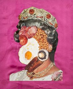 Her Maj,a fun photo could be seen as a disguise. GCSE paper 2014 Disguises