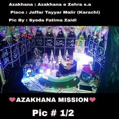 AZAKHANA MISSION  # 03  Azakhana : Azakhana e zehra s.a  Place : Jaffar Tayyar Malir (Karachi)  Pic By : Syeda Fatima Zaidi  Pic # 1/2  Aap Apne Azakhane kay pic Upload Karwane K liye hame pics and detail Azakhana Mission k Facebook Page k inbox mai message karen  Note: Message Karnay K Liya Yeh Link Open Karay  http://ift.tt/2euWmv6  #AZAKHANA_MISSION