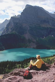 Grinnell Glacier Trail, Glacier National Park, MT....  See even more at the image