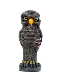 Zombie Owl only at Spirit Halloween - Zombie Owl is a hoot of a decoration! Exposed rib cage and skull, along with those beady eyes, make for one super creepy prop. Add this creature to your new Lawn Scares collection for only $16.99.