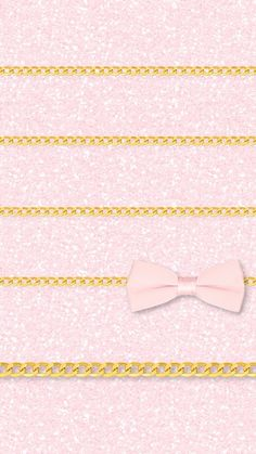 Pink glitter bow chain shelves background to iphone5