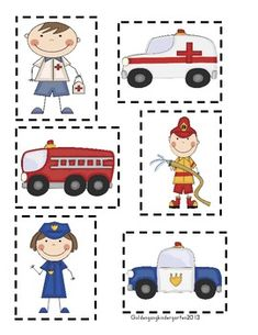 Community Helpers With Common Core Literacy and Math Activities