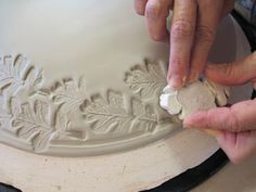 Pottery Carving Patterns   Making an Impression