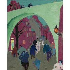 Lyonel Feininger - The Green Bridge, 1909