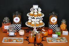 Halloween Treats Table » Glorious Treats