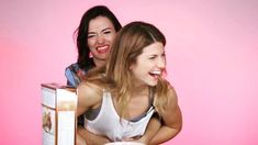 regram How are they so adorable Happy People, Funny People, Lgbt, Elise Bauman, Carmilla, Lovely Smile, Important People, Web Series, Feature Film