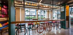 AW² complete Vietnamese street life inspired hotel in Ho Chi Minh City Food Court, Canteen, Ho Chi Minh City, Inspired, Street, Life, Home Decor, Decoration Home, Room Decor