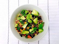 Lime Quinoa Salad, Cilantro Lime Quinoa, Make Ahead Lunches, Plant Based Recipes, Avocado Toast, Healthy Life, Side Dishes, Nutrition, Healthy Recipes