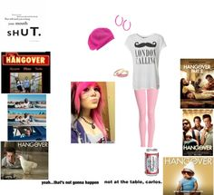 """""""hangover"""" by syco-peace ❤ liked on Polyvore"""