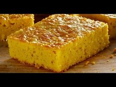 delicioso y facil pan de elote - YouTube Corn Recipes, Mexican Food Recipes, Easy Cooking, Cooking Recipes, Corn Cupcakes, Mexican Bread, Cheesecake Bites, Sweet Bread, Desert Recipes