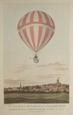 1813 Balloon Ascent.